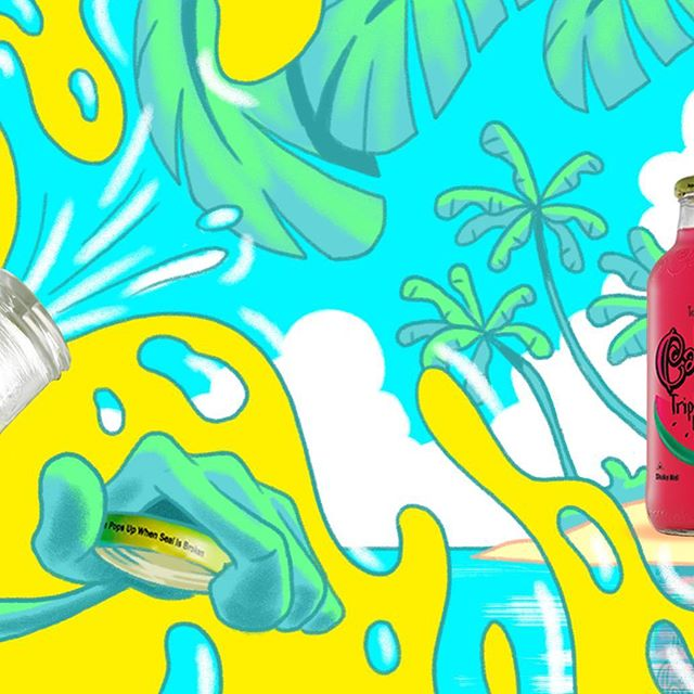 Working on a fun lemonade brand with @brittainpeck