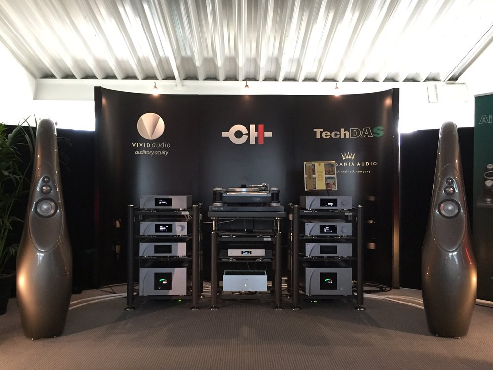CH Precision at Munich High End 2016