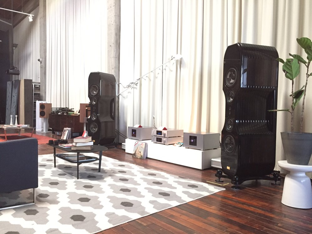 CH Precision at Elite Audio Systems, San Francisco