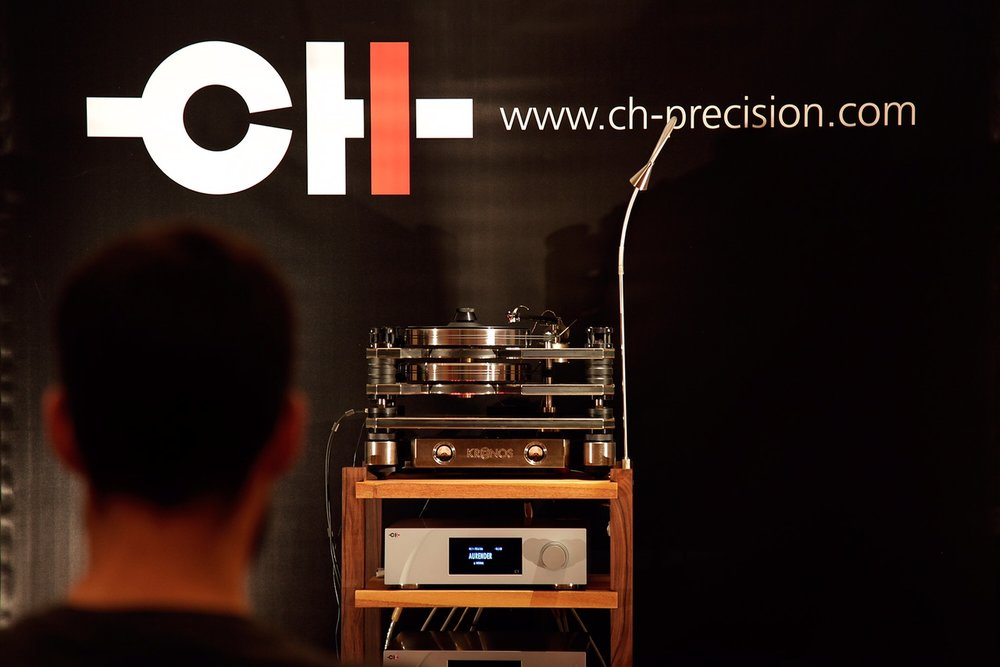 CH Precision in Salon Audio Montreal Audio Fest