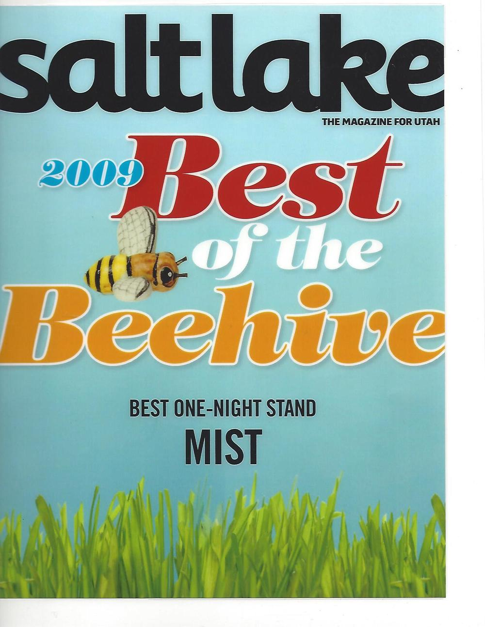 Rikka won Best One Night Stand for Mist! (Salt Lake Magazine 2009).jpg