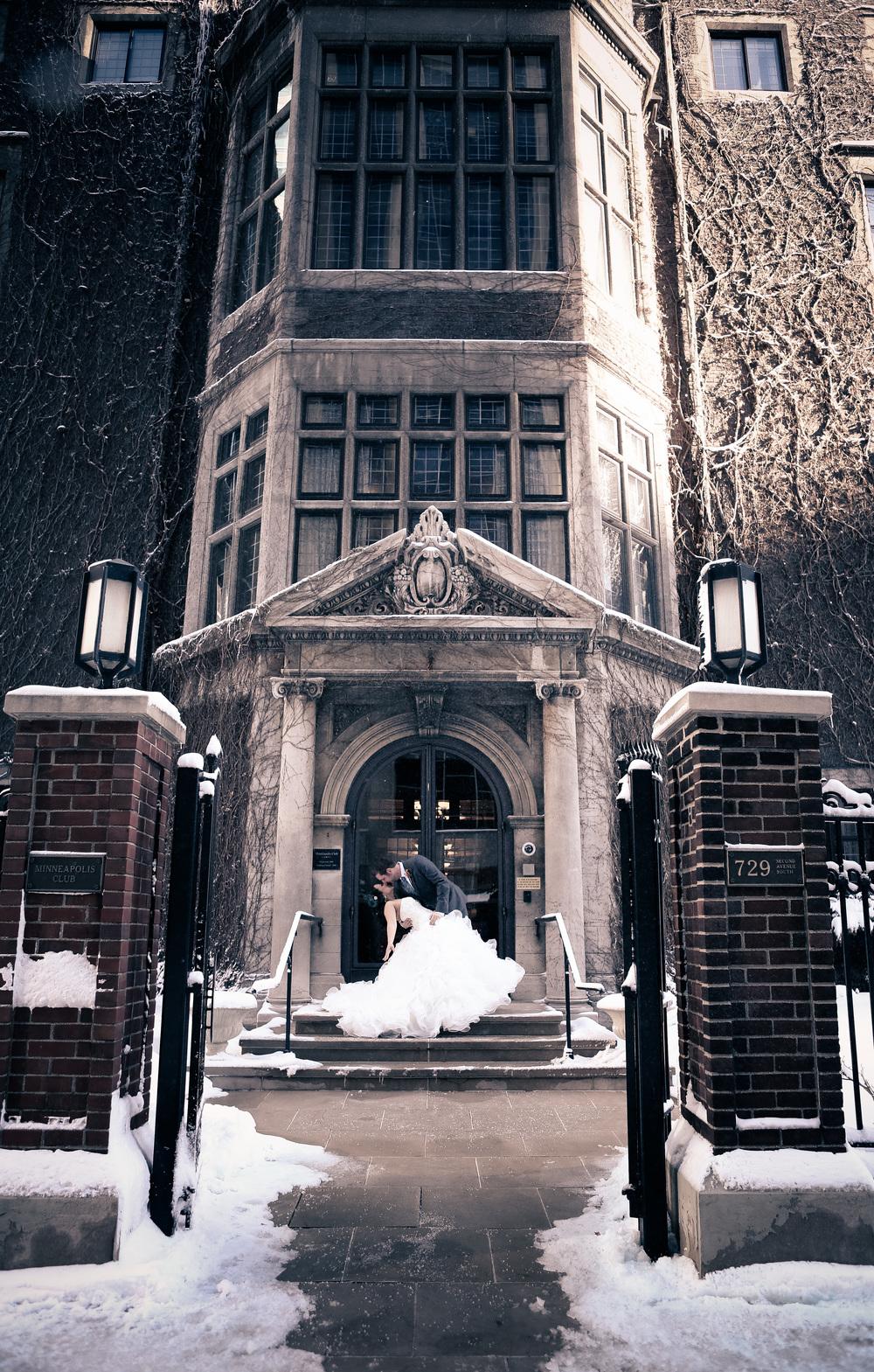 Downtown Minneapolis Wedding Photographer