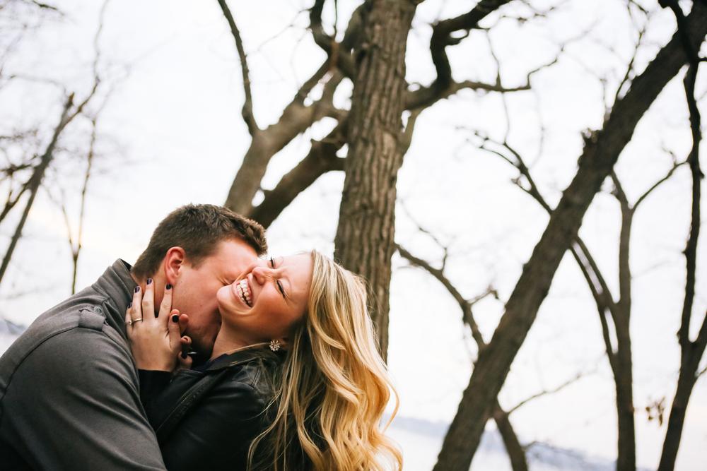 Minneapolis Winter Engagement Photography