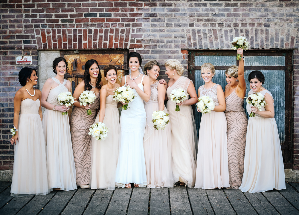 Minneapolis wedding photography bridesmaids