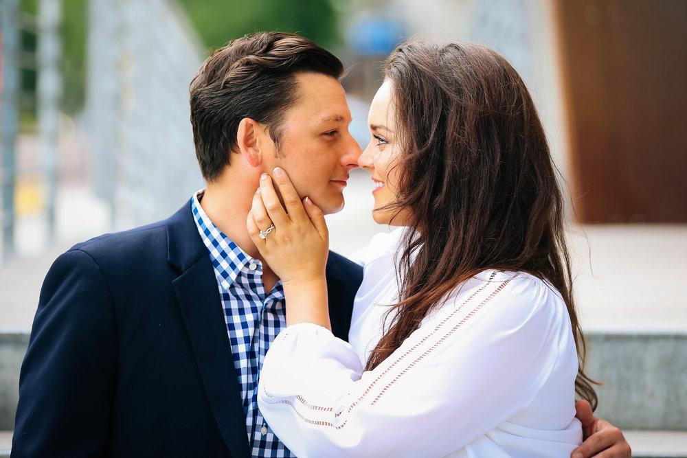 Classic Engagement Photo