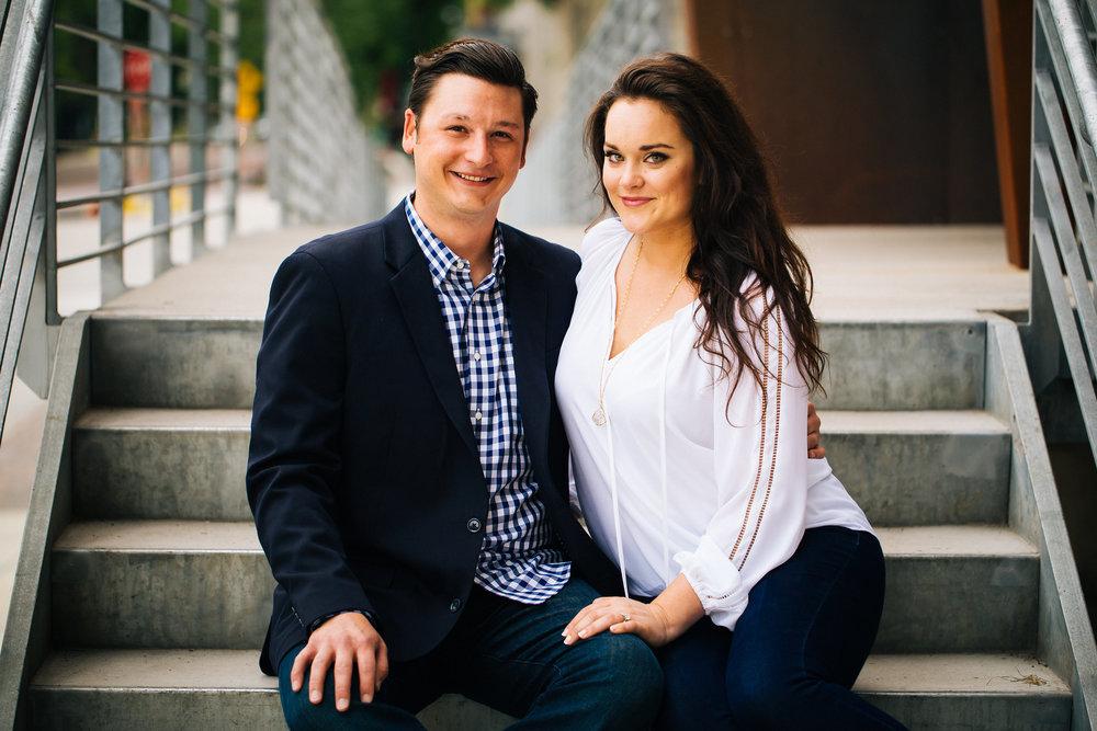 Classic Engagement Portraits in Minneapolis