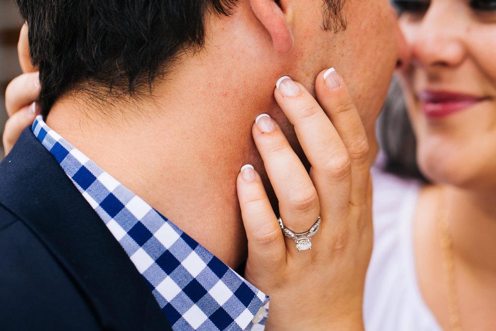 Engagement Ring Shot in Minneapolis