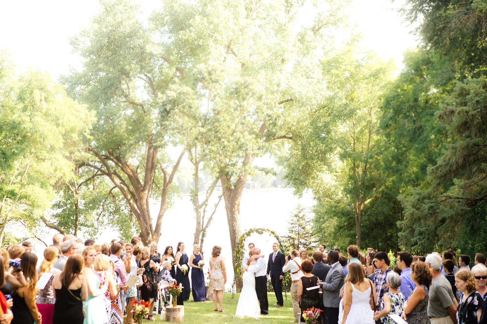 Minnesota Backyard Wedding