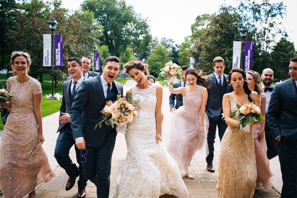 University of St. Thomas Wedding