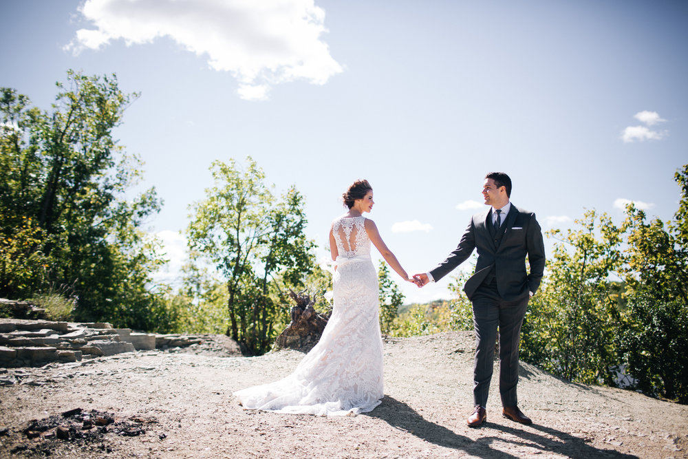 University of St. Thomas wedding photographer