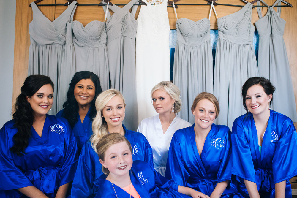 ALoft Suites bridal party
