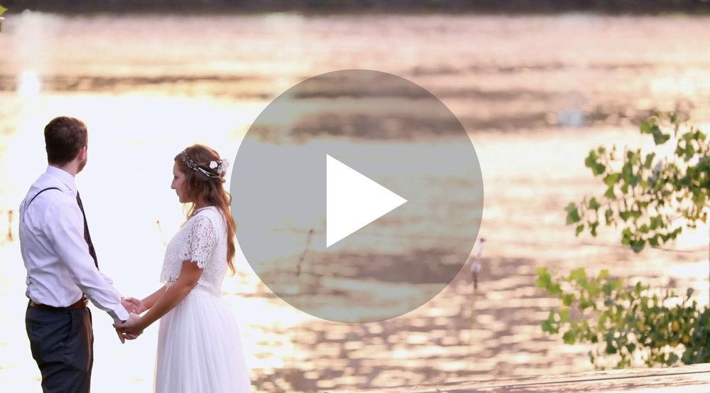 Nicollet Island Pavilion Wedding Videographer