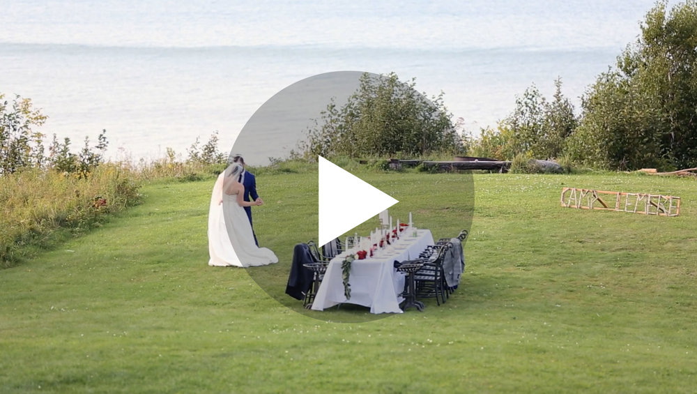 Northshore Destination Wedding Videographer