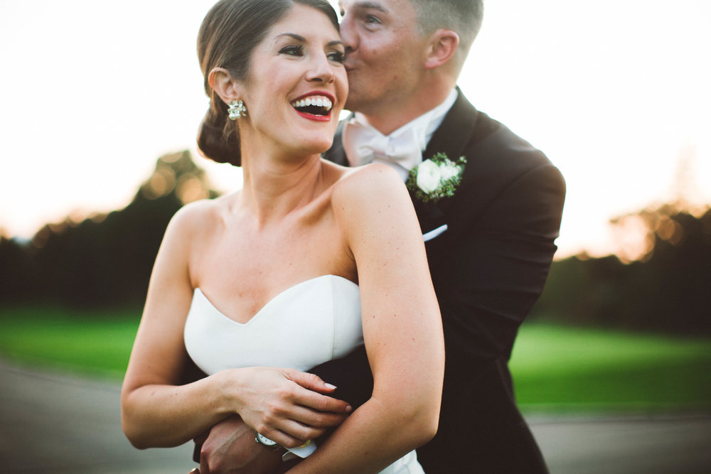 Golden Hour Golden Valley Country Club wedding photography