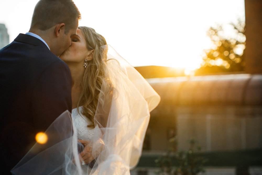 Golden Hour Minneapolis Event Center Wedding photography