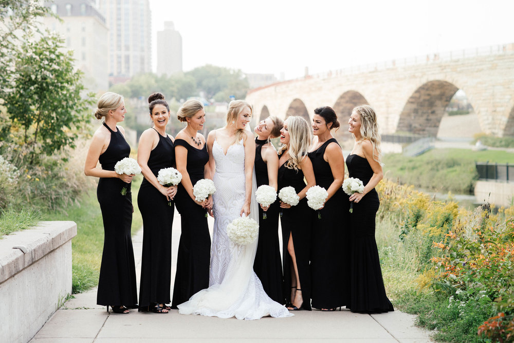 Hewing Hotel Wedding Photography bridesmaids photo