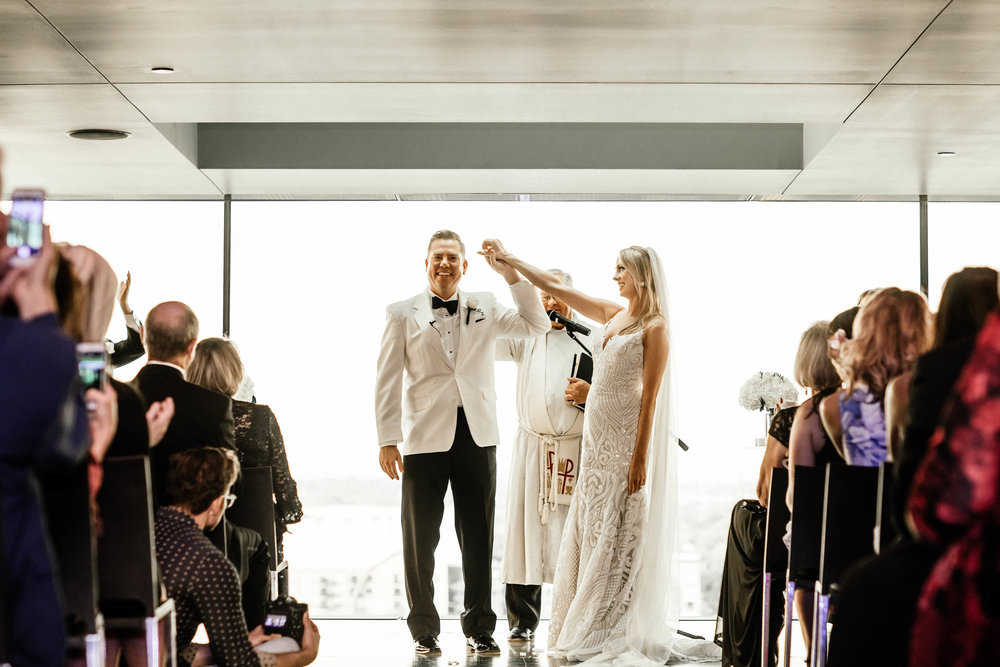 Guthrie amber room wedding ceremony photography