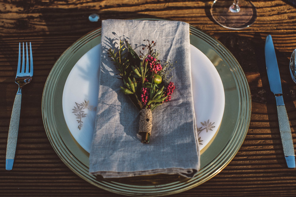 Minnetonka Orchard Wedding Photography Autumn Table Setting