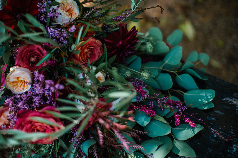 Minnetonka Orchard Wedding Photography Bright Autumn Bouquet