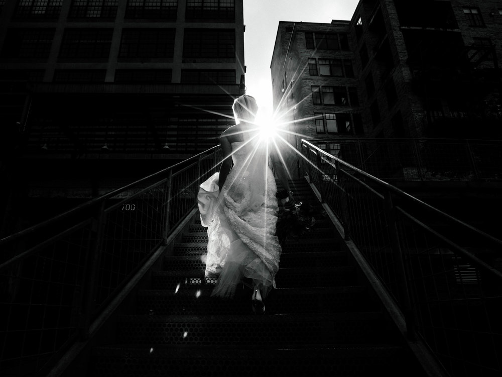 Mill city ruins wedding photography