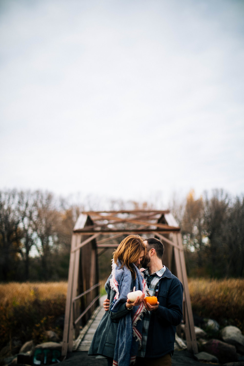 Minneapolis Fall Engagement Photographer