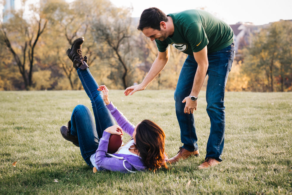 playful engagement session inspiration
