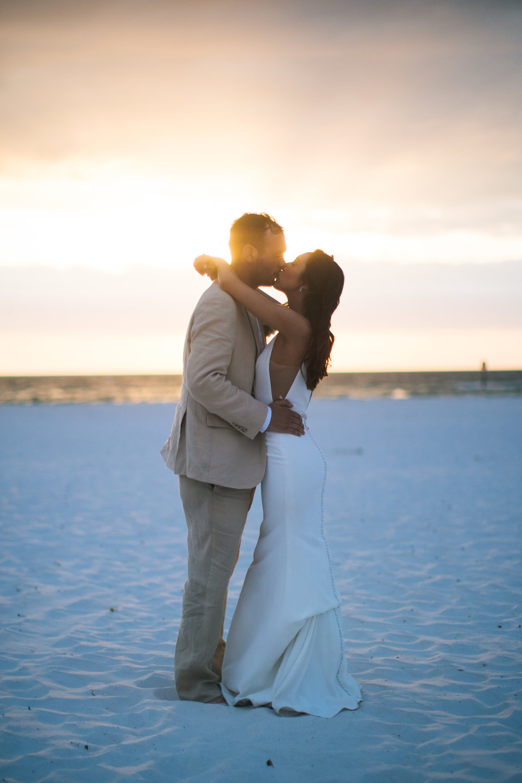Sunset Elopement Wedding Photographer
