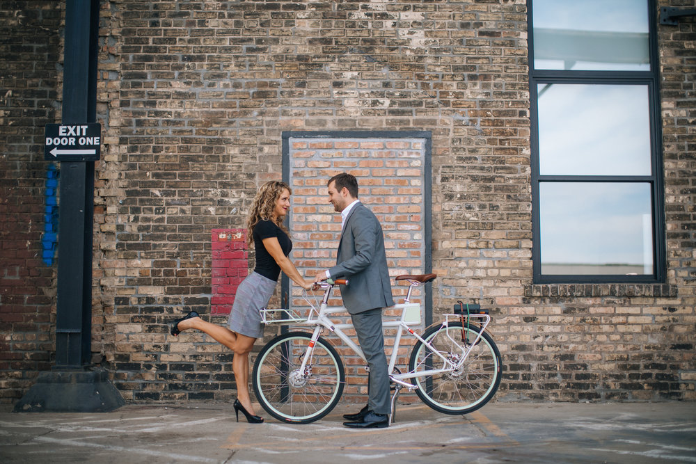 Northeast Minneapolis Engagement Photos