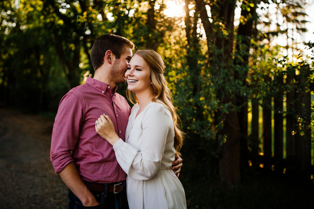 Golden Hour Engagement Session Twin Cities Vali Hi