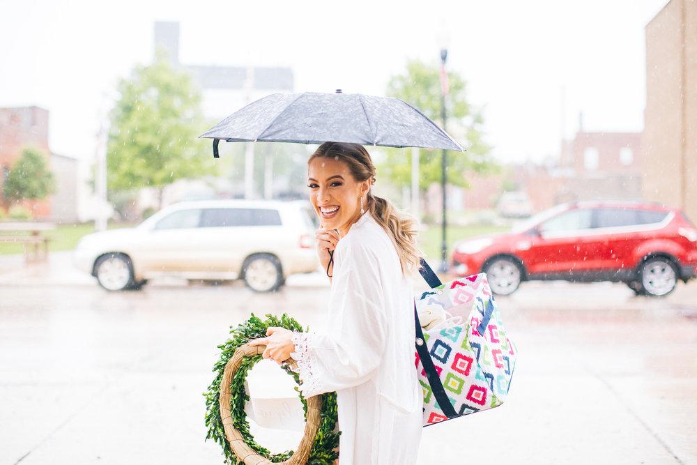 Rainy Day Wedding Photographer Videographer Minneapolis