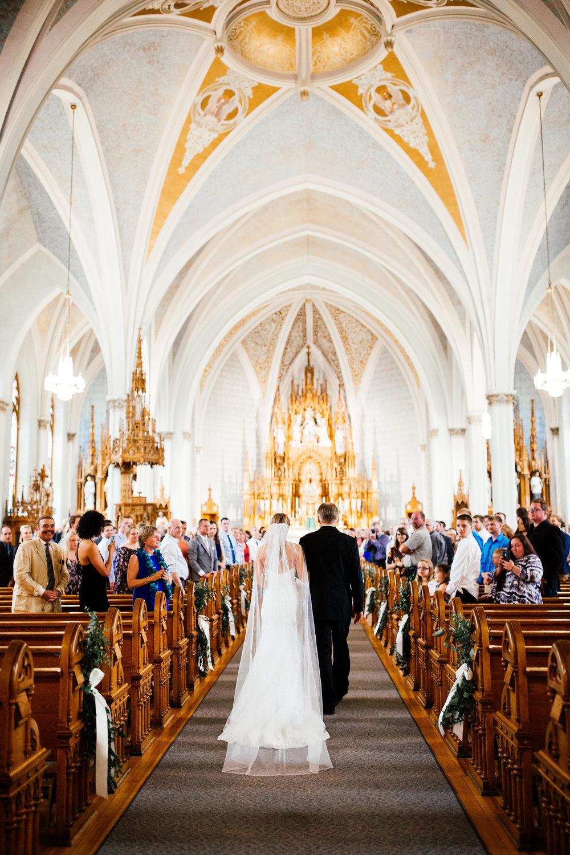 Elegant Church Wedding Photographer