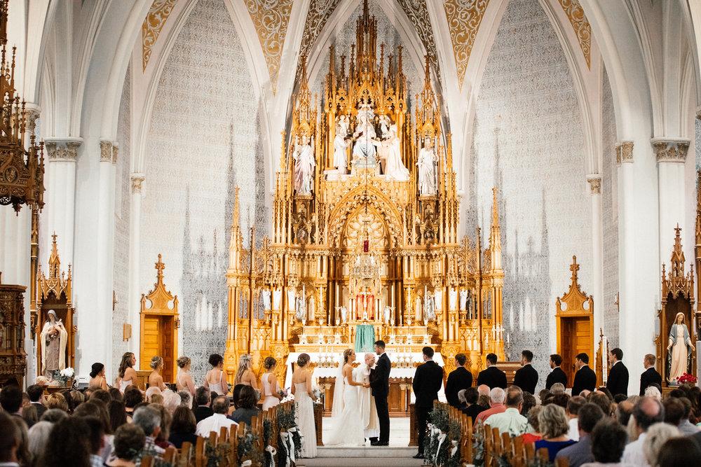 Elaborate Church Wedding Minneapolis St Paul Photographer Videographer
