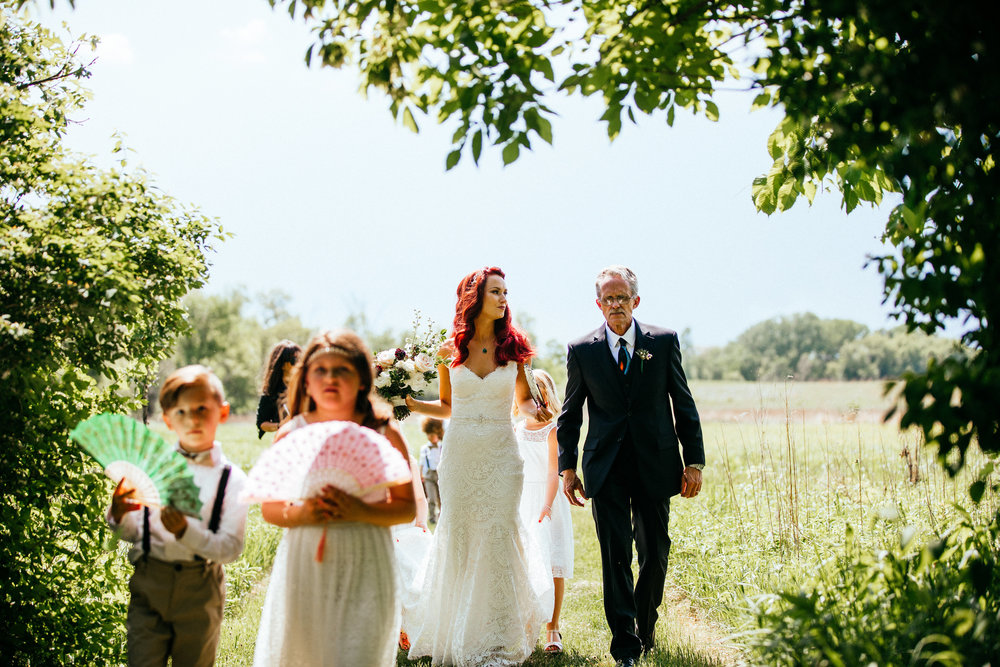 Three Rivers Park District Wedding Ceremony