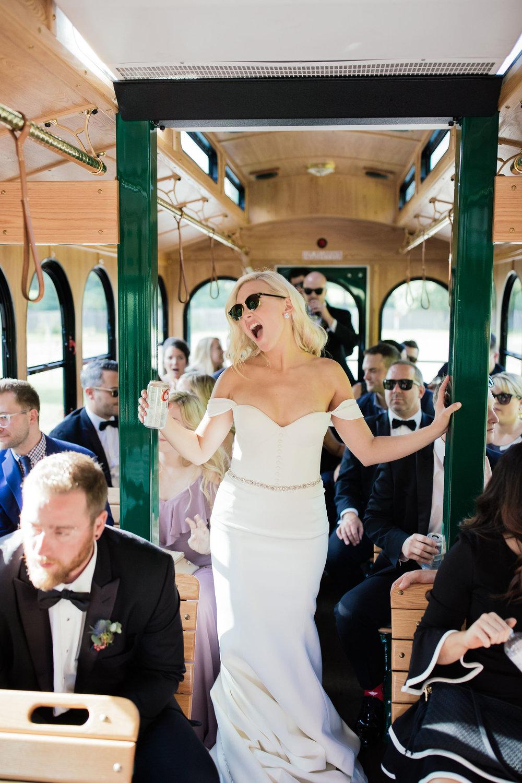 Wedding Trolley Minneapolis