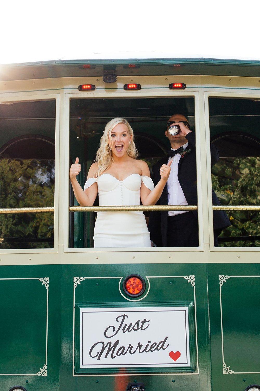 Minneapolis Wedding Party Bus