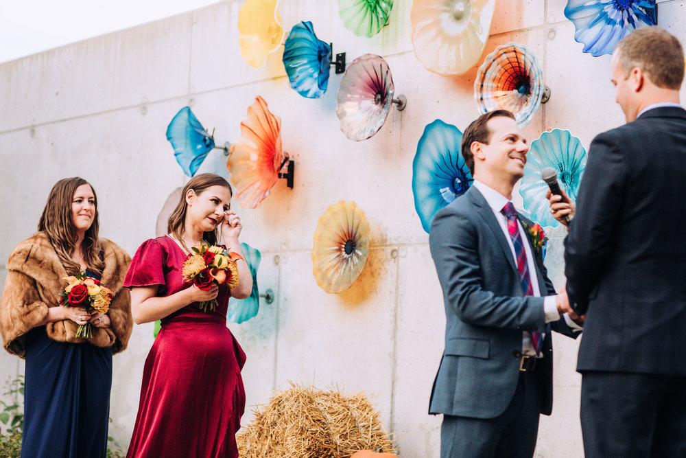Ignite Glass Studio Chicago Outdoor Wedding Ceremony