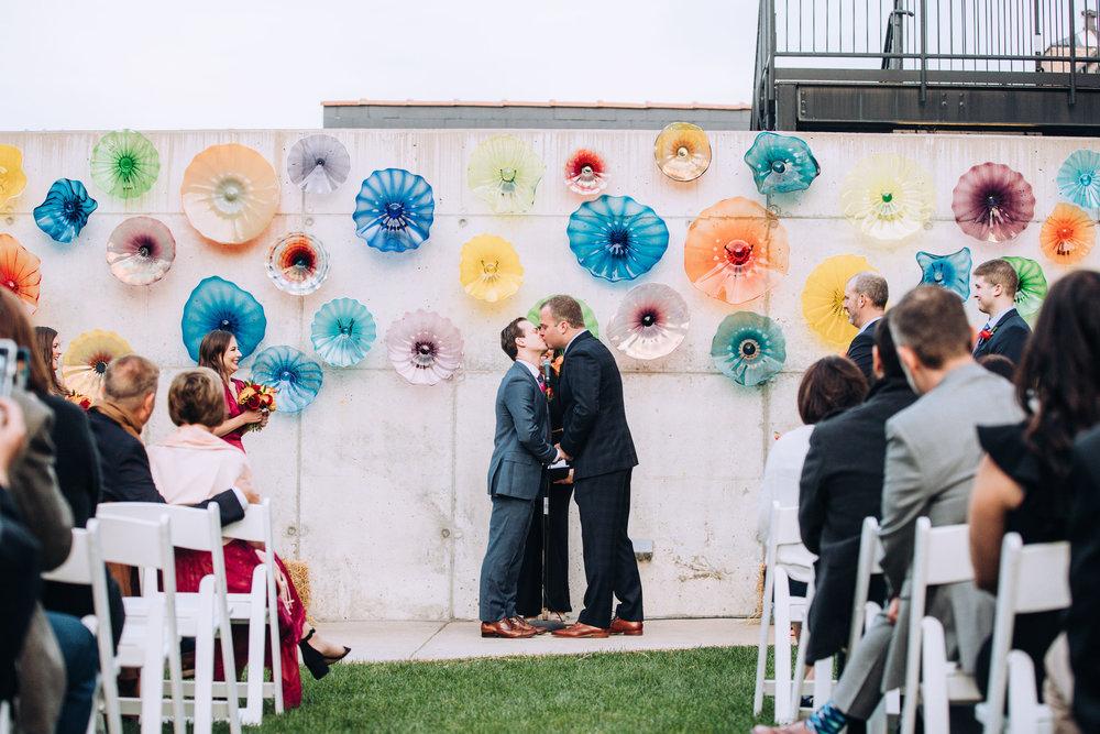 Chicago Outdoor Wedding Ceremony Photographer