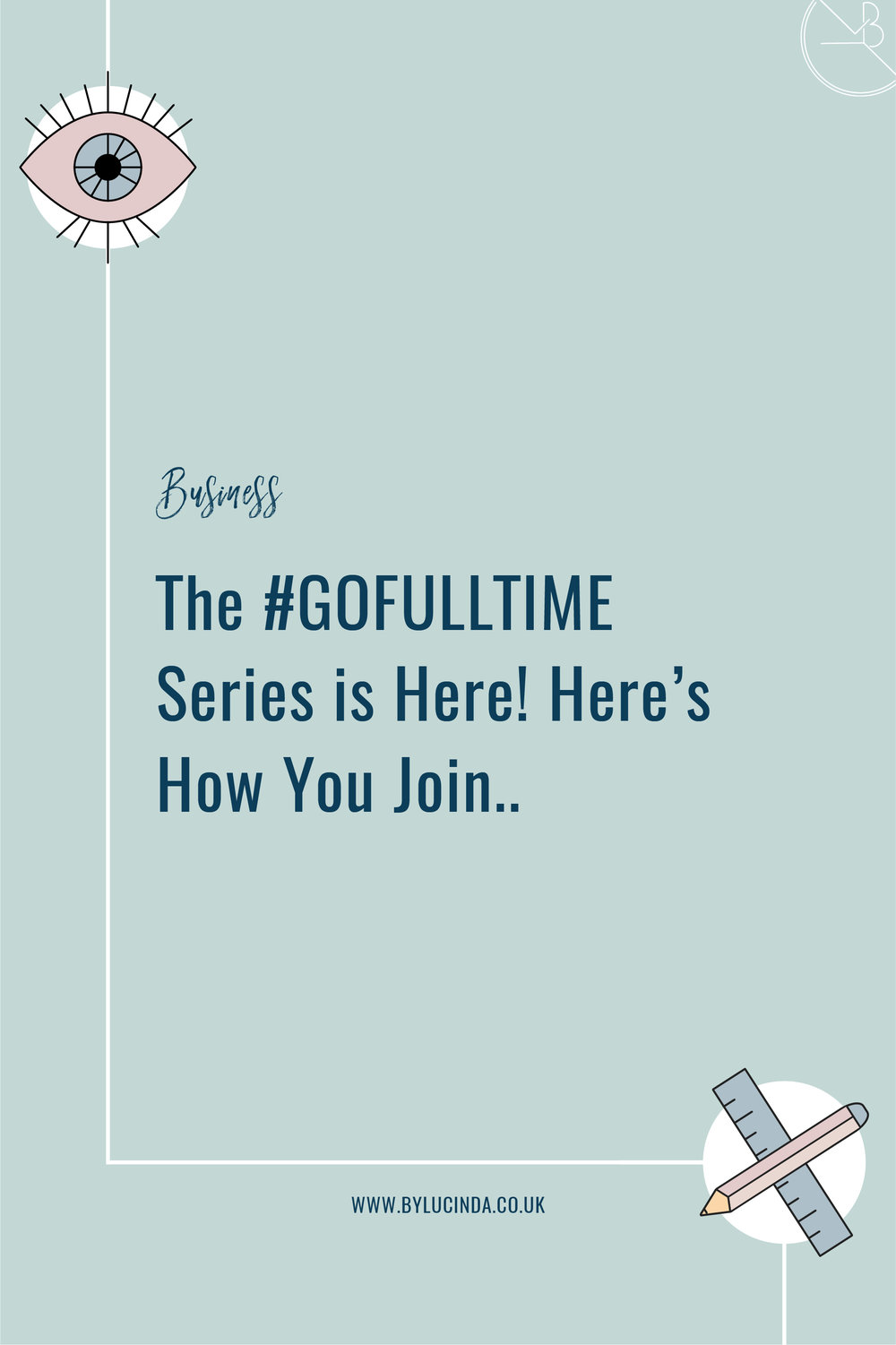 This series was specifically designed to help inspired side-hustlers make a smooth and successful transition from side-hustle to self-employed! I break down each step to ensure you've planned out everything as meticulously as possible, to see the same successes I did in a short period of time! Trust me, this s*** works. The #GOFULLTIME Series is finally live and I'd be so happy to have you on board! http://bit.ly/GOFULL-TIME