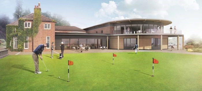 Artist's Impression of Royal Norwich's New Clubhouse