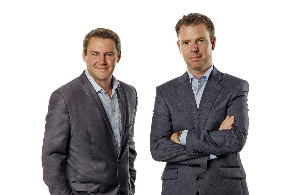 John Clarkin (l) & Julian Mooney