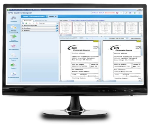 OpenText Captiva screenshot.