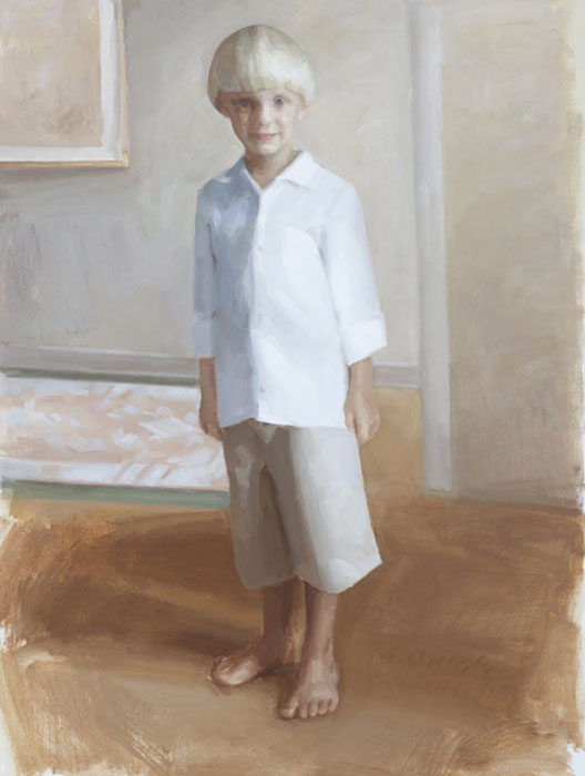 Tread | Child's Portrait | Kate Bradley