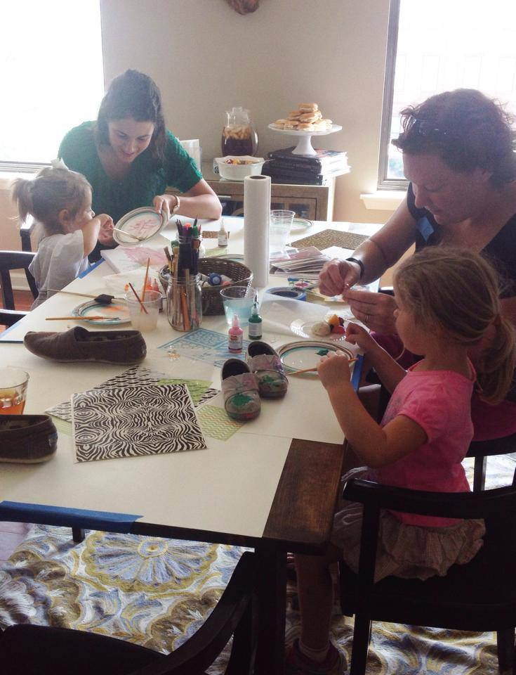 Back-to-School Painting Party