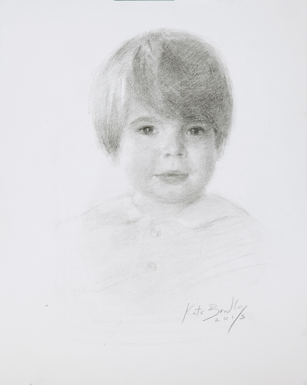 Virgil, Age 2, Charcoal