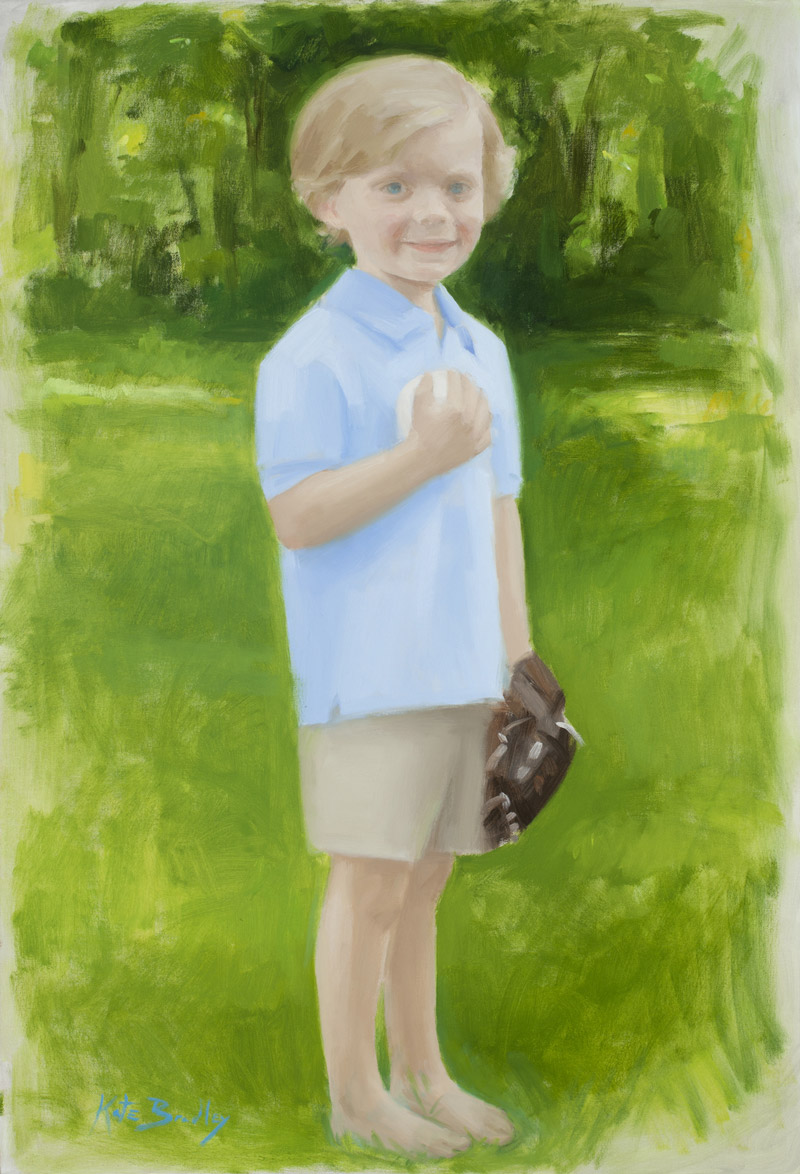 Tanner Sherman, Age 5, Oil