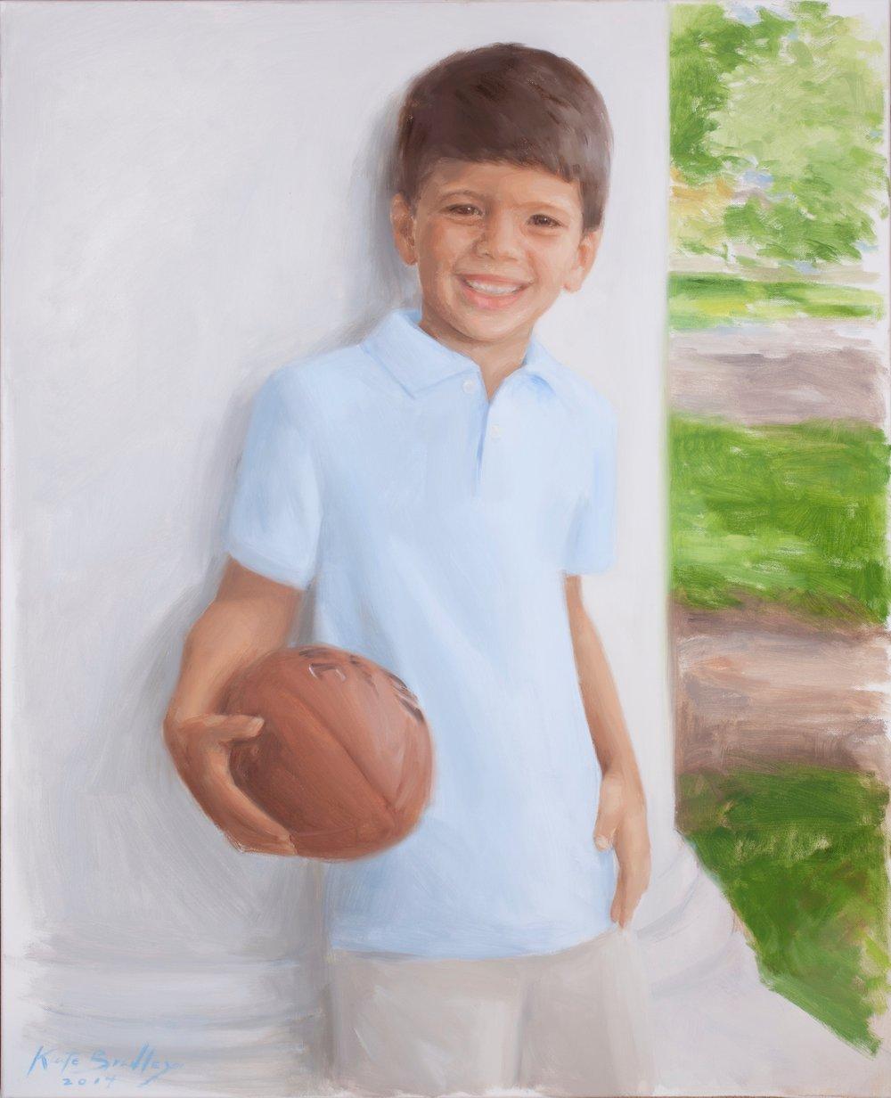 Dhilan Madasu, Age 6, Oil