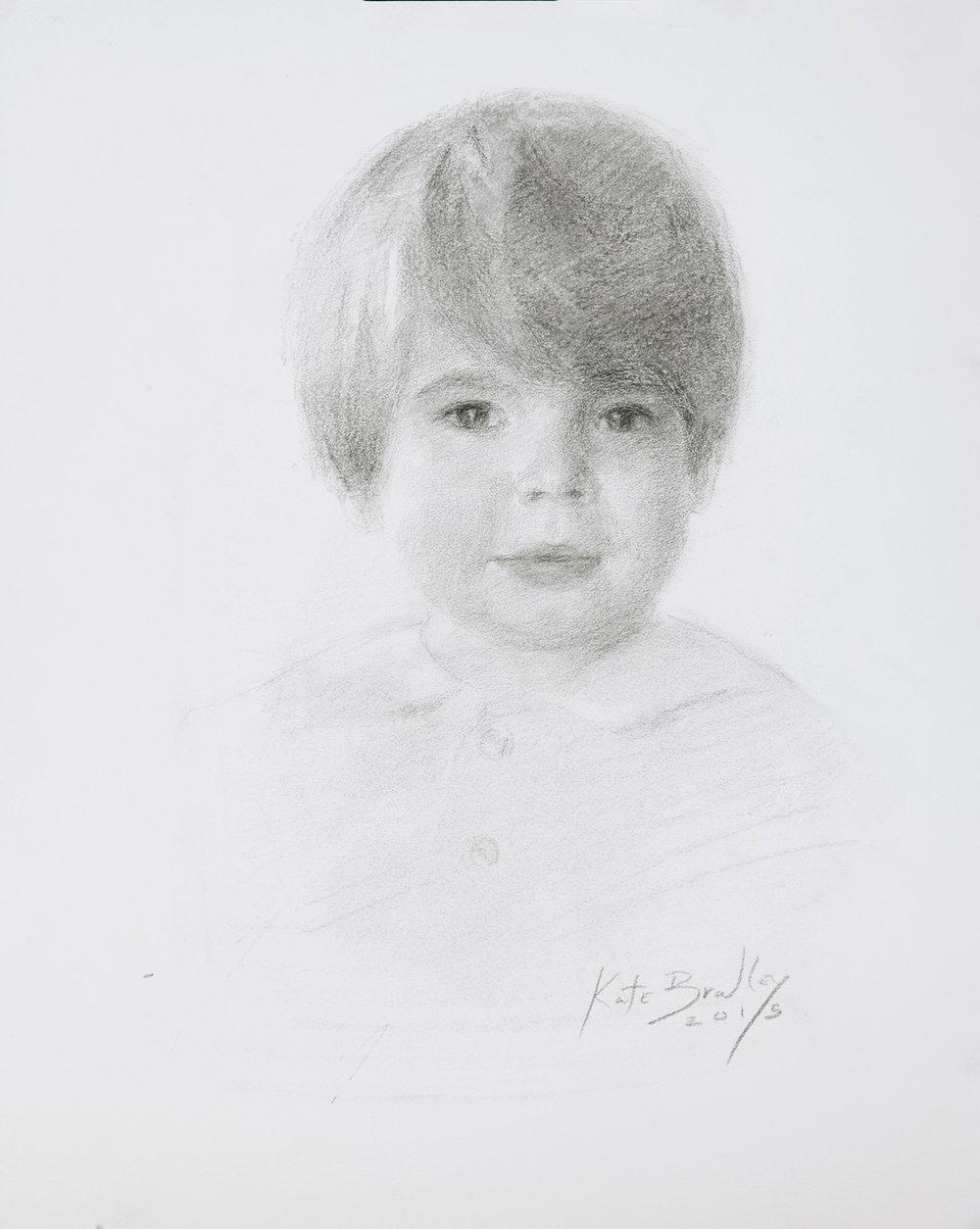 Virgil Love, Age 3, Oil