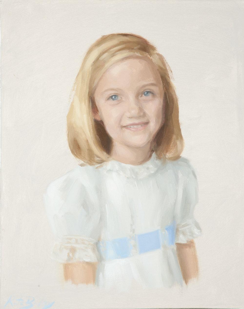 Kennon Humphreys, Age 5, Oil