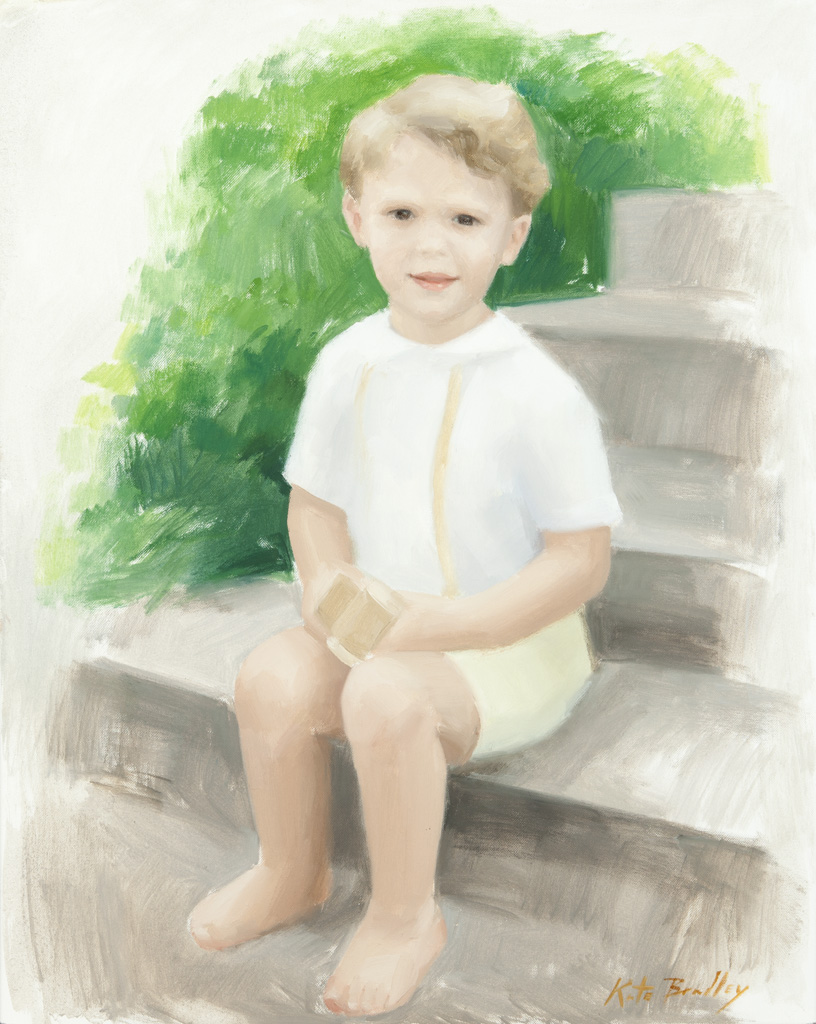 Mac Canale, Age 4, Oil