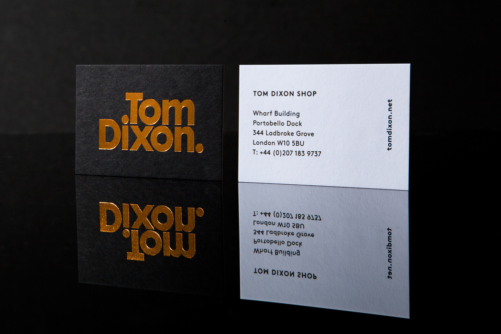 Tom Dixon cards - Design & Practice